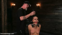 Lilith Luxe - Sex Slave Lilith Luxe Humiliated with Head Shaving and Coerced Orgasms (Thumb 02)