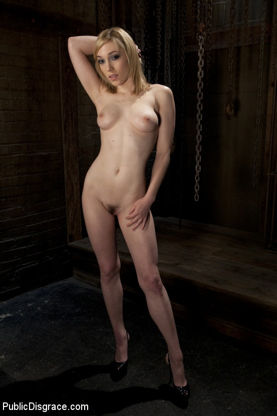 Kink 'Gorgeous 20 Year old Blonde Fucked and Degraded' starring Lily LaBeau (Photo 2)