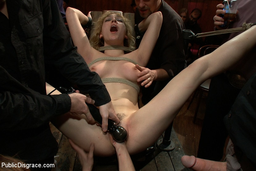 Kink 'Gorgeous 20 Year old Blonde Fucked and Degraded' starring Lily LaBeau (Photo 4)