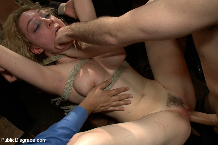 Kink 'Gorgeous 20 Year old Blonde Fucked and Degraded' starring Lily LaBeau (Photo 6)