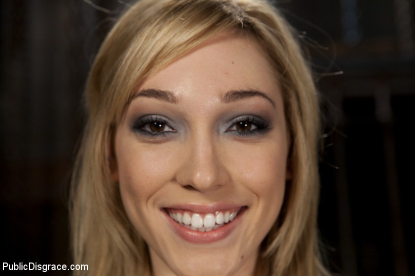 Kink 'Gorgeous 20 Year old Blonde Fucked and Degraded' starring Lily LaBeau (Photo 9)