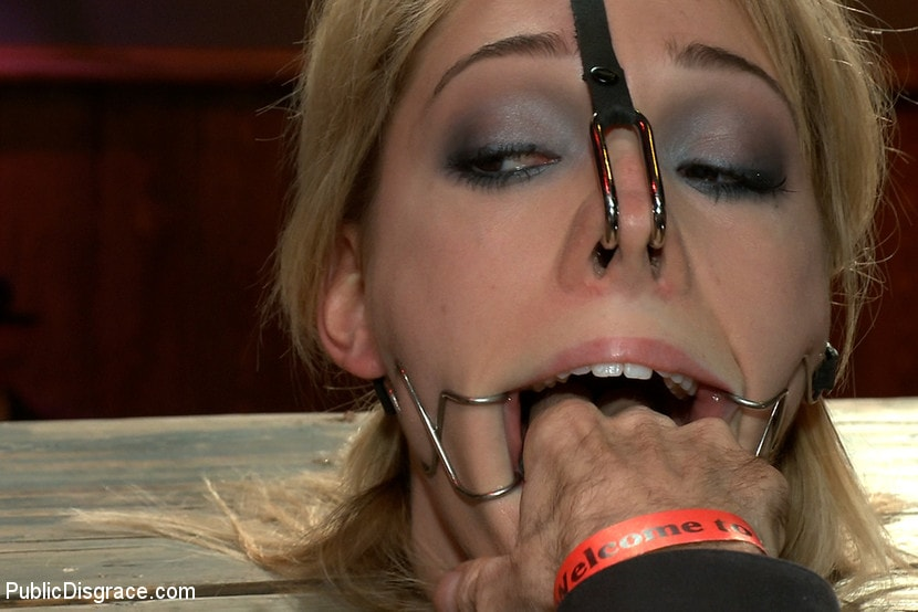 Kink 'Gorgeous 20 Year old Blonde Fucked and Degraded' starring Lily LaBeau (Photo 11)