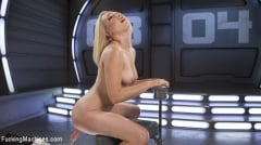 Lily LaBeau - Hot Blond Lily LaBeau is Machine Fucked (Thumb 02)