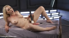 Lily LaBeau - Hot Blond Lily LaBeau is Machine Fucked (Thumb 11)