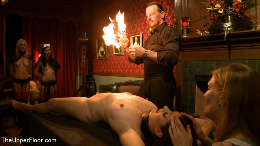 Kink 'House Celebration: Fire Play and Farewell Pope p. 2' starring Lily LaBeau (Photo 9)