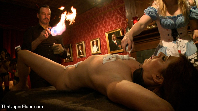 Kink 'House Celebration: Fire Play and Farewell Pope p. 2' starring Lily LaBeau (Photo 11)