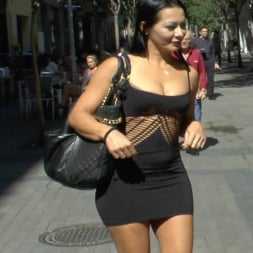 Lilyan Red in 'Kink' Redheaded slut beautifully disgraced on streets of Madrid (Thumbnail 12)