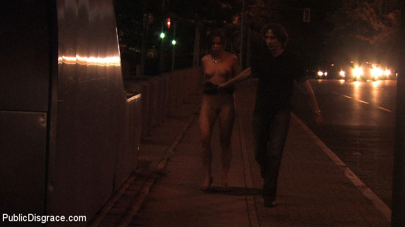 Kink 'Beautiful Czech girl exposed on the streets at night!!!' starring Linda (Photo 3)