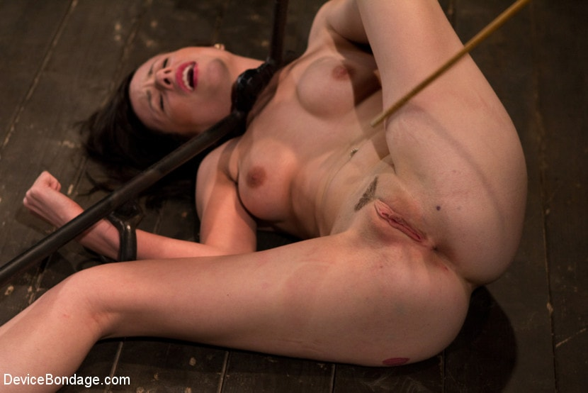 Kink 'Petite Brunette is Bound, Vibed and Denied' starring Lindy Lane (Photo 11)