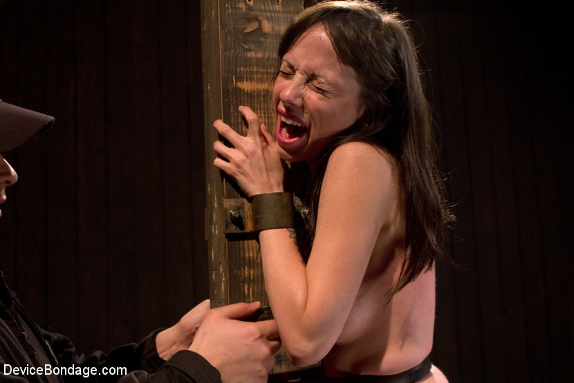 Kink 'Petite Brunette is Bound, Vibed and Denied' starring Lindy Lane (Photo 14)