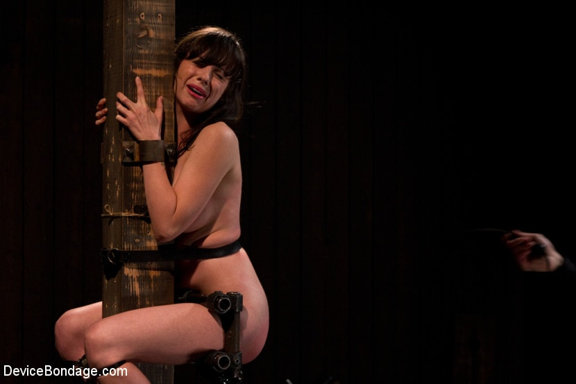 Kink 'Petite Brunette is Bound, Vibed and Denied' starring Lindy Lane (Photo 16)