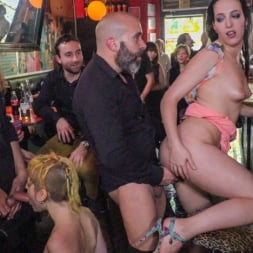 Liz Rainbow in 'Kink' Spanish Bar turns into a Filthy Fuck Party! - Part 2 (Thumbnail 10)