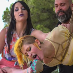 Liz Rainbow in 'Kink' Spanish Bar turns into a Filthy Fuck Party! - Part 2 (Thumbnail 22)