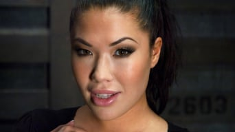 London Keyes in 'Punished Masseuse'