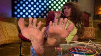 Lorelei Lee in 'Footsie Footsie Bang Bang: A Lesbian Foot Bang!'