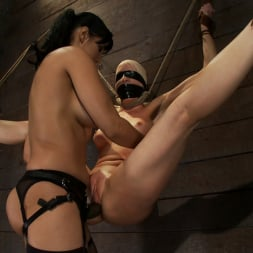 Lorelei Lee in 'Kink' Legs tied to neck, a slow choke out As her arms weaken the pull on the neck gets stronger. (Thumbnail 3)
