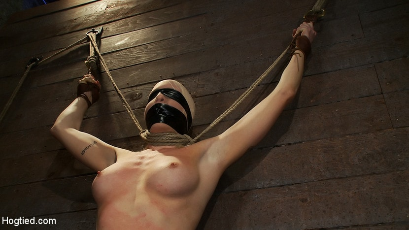 Kink 'Legs tied to neck, a slow choke out As her arms weaken the pull on the neck gets stronger.' starring Lorelei Lee (Photo 14)