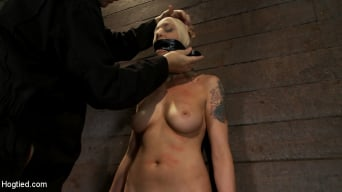 Lorelei Lee in 'Legs tied to neck, a slow choke out As her arms weaken the pull on the neck gets stronger.'