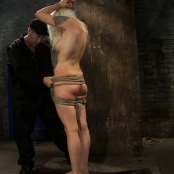 Lorelei Lee in 'Kink' Lorelei is bound on screen, brutally fucked by Isis Love in a back breaking Category 5 suspension. (Thumbnail 1)