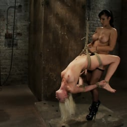 Lorelei Lee in 'Kink' Lorelei is bound on screen, brutally fucked by Isis Love in a back breaking Category 5 suspension. (Thumbnail 3)