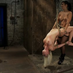 Lorelei Lee in 'Kink' Lorelei is bound on screen, brutally fucked by Isis Love in a back breaking Category 5 suspension. (Thumbnail 4)