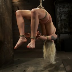 Lorelei Lee in 'Kink' Lorelei is bound on screen, brutally fucked by Isis Love in a back breaking Category 5 suspension. (Thumbnail 5)