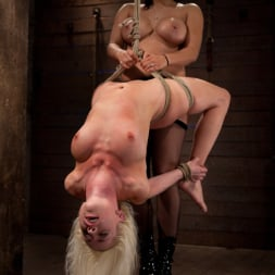 Lorelei Lee in 'Kink' Lorelei is bound on screen, brutally fucked by Isis Love in a back breaking Category 5 suspension. (Thumbnail 8)