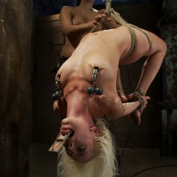 Lorelei Lee in 'Kink' Lorelei is bound on screen, brutally fucked by Isis Love in a back breaking Category 5 suspension. (Thumbnail 14)