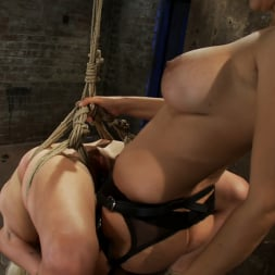 Lorelei Lee in 'Kink' Lorelei is bound on screen, brutally fucked by Isis Love in a back breaking Category 5 suspension. (Thumbnail 15)