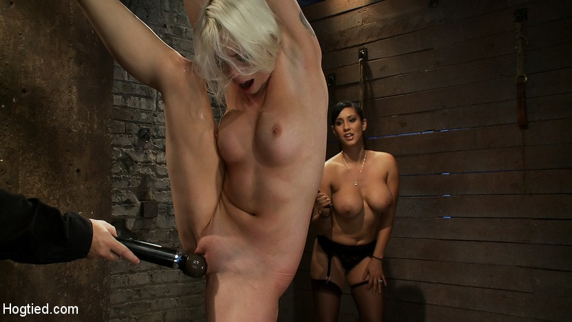 Kink 'We yank a leg up, cane her then make her cum until she's totally physically and emotionally wrecked' starring Lorelei Lee (Photo 16)