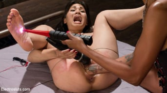 Lotus Lain in 'Intense Anal Electro Domination: Tough Slut Pushed to Her Limits!'