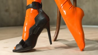 Lyla Storm in 'Foot Humiliation, Trampling and Latex'