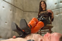Lyla Storm - Foot Humiliation, Trampling and Latex (Thumb 16)