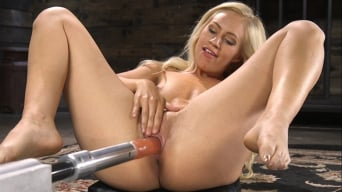 Lyra Law in 'Sexy As Fuck Blonde Babe is Machine Fucked'