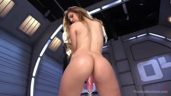 Lyra Louvel in 'Fresh Meat - Long Legged Blonde Gets Ravaged by Fucking Machines'