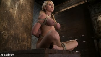 Madison Scott in 'is Bound in a Traditional Japanese Torture Position Make to Cum and Squirt.'