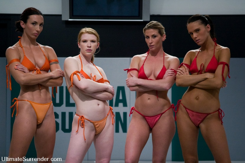 Kink 'LIVE TAG TEAM LEAGUE Team Orange vs Team Red' starring Madison Young (Photo 1)