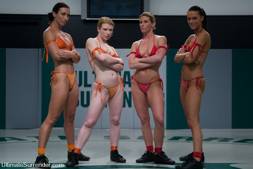 Kink 'LIVE TAG TEAM LEAGUE Team Orange vs Team Red' starring Madison Young (Photo 2)