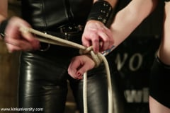 Madison Young - The Two Knotty Boys Share some Rope Bondage Basics (Thumb 10)