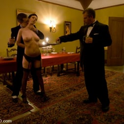 Satine Phoenix in 'Kink' Classic Shoot The First Supper, Part One (Thumbnail 4)