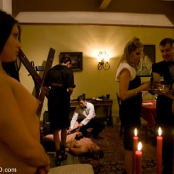 Satine Phoenix in 'Kink' Classic Shoot The First Supper, Part One (Thumbnail 8)