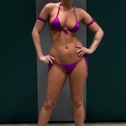 Mahina Zaltana in 'Kink' Blond Amazon destroy and humiliates Sexy Hawaiian on the mat Finger fucking during the wrestling (Thumbnail 6)