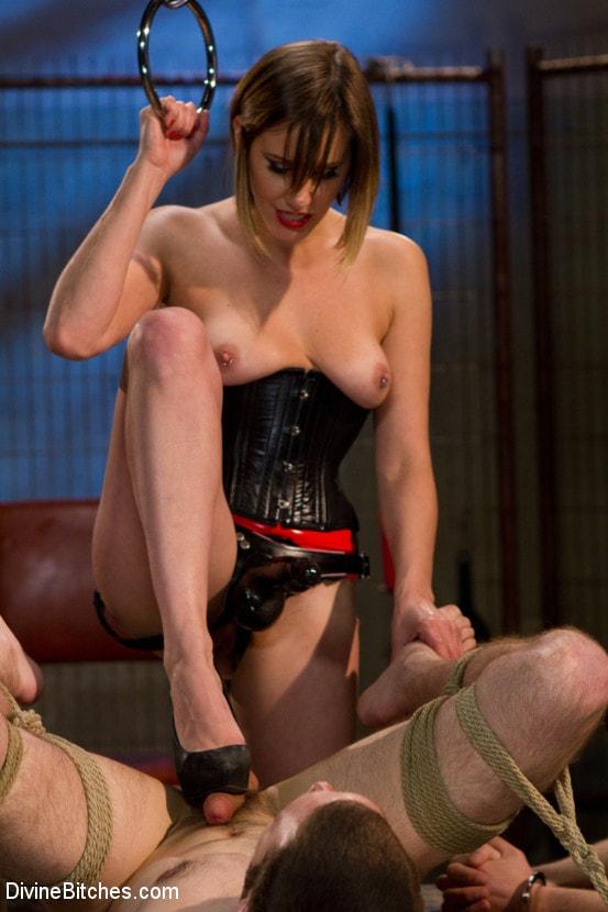 Kink 'New Slaveboy Tryouts LIVE with Maitresse Madeline' starring Maitresse Madeline (Photo 4)
