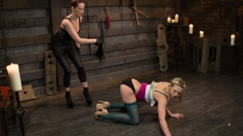 Maitresse Madeline in 'New Submissive Slut: Bailey Blue'