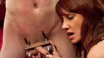 Maitresse Madeline in 'Oops, she did it again: Prostate Milking'