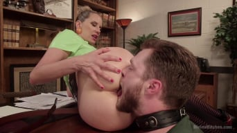 Maitresse Madeline Marlowe in 'Everybody Loves Anal, So Worship That Ass!'