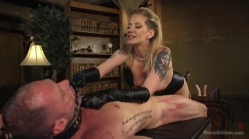 Maitresse Madeline Marlowe - Maitresse Madeline Dick Drains New Slave With Her Evil Femdom Pussy!