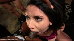 Mandy Muse - Mandy Muse Gets Her Big Ripe Ass Bound Up and Gangbanged (Thumb 02)