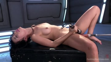 Marica Hase - Asian Bombshell First Timer on Fucking Machines!!!