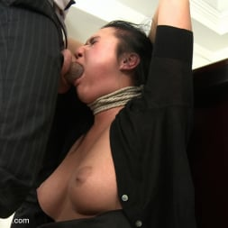 Rokki in 'Kink' Secretary Take Down:Boss and Friends Tie her up and Fill her Pussy (Thumbnail 16)